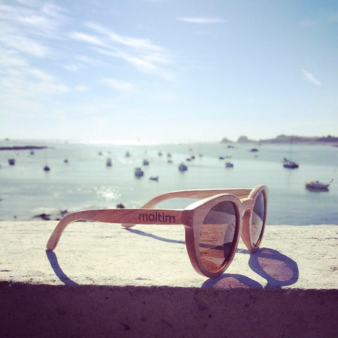 maltim wooden sunglasses