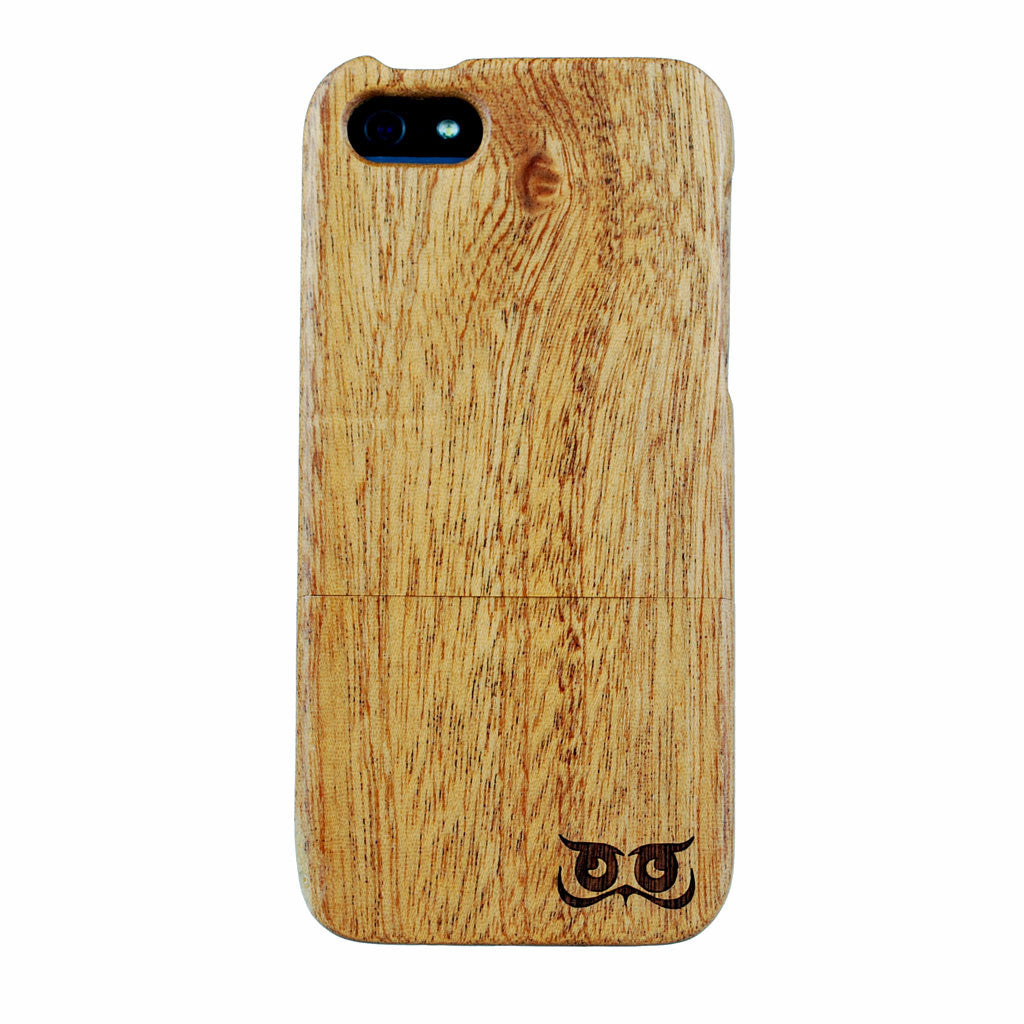 iPhone 5 Sapele Wooden Case