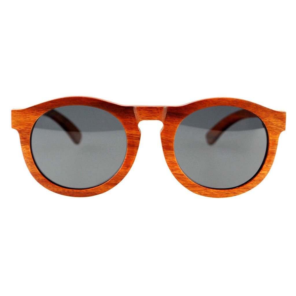 ANDY Red Kosso Wooden Sunglasses