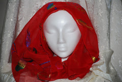 Women's Head Scarf (Red)