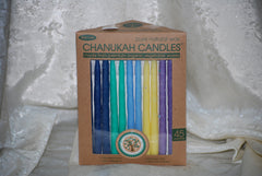 Hanukkah Candles Vegetable Wax