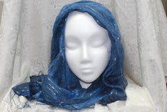 Women's Head Scarf (Blue)