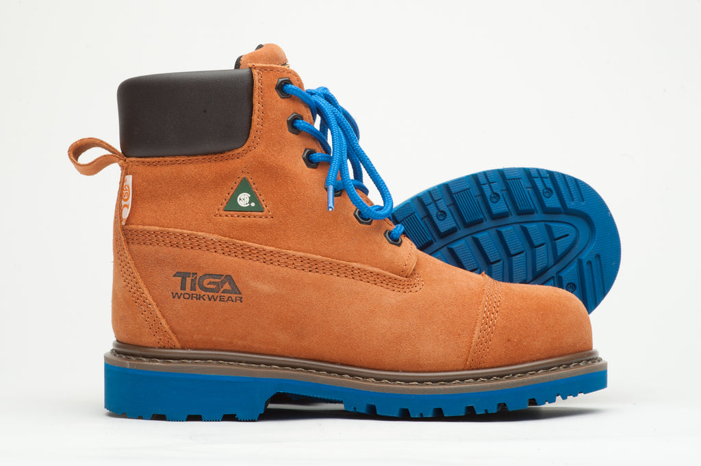 Composite safety toe boots - Sand