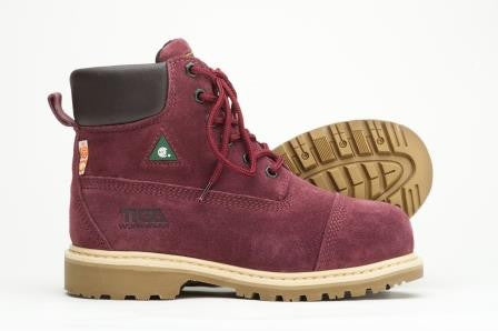 Work Boots for Women - The Griff Garnet