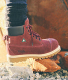 Composite Safety Workboots for Women The Griff - Garnet