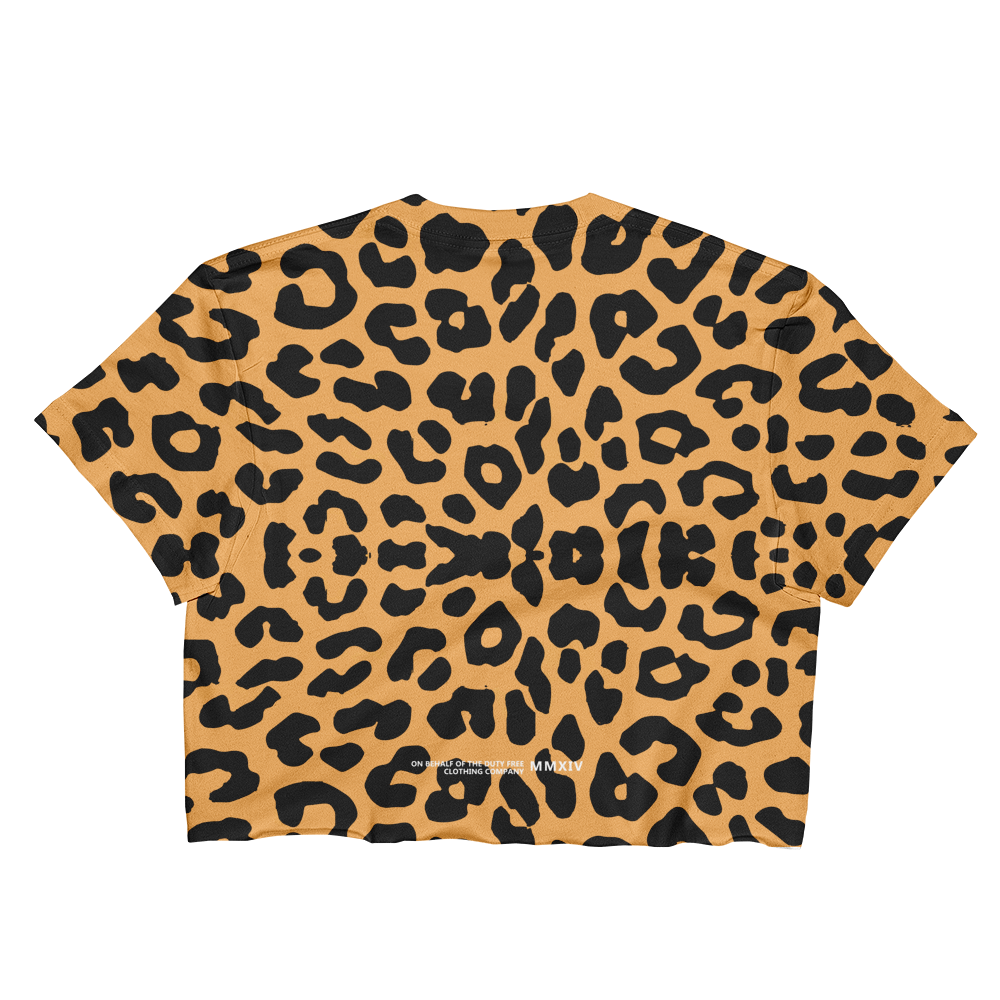 Leopard SOCA Crop by PRETTY GIRLS LOVE SOCA®