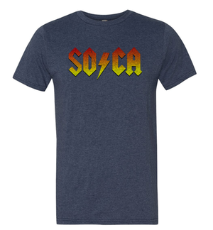 SOCA - Heather Blue Tshirt