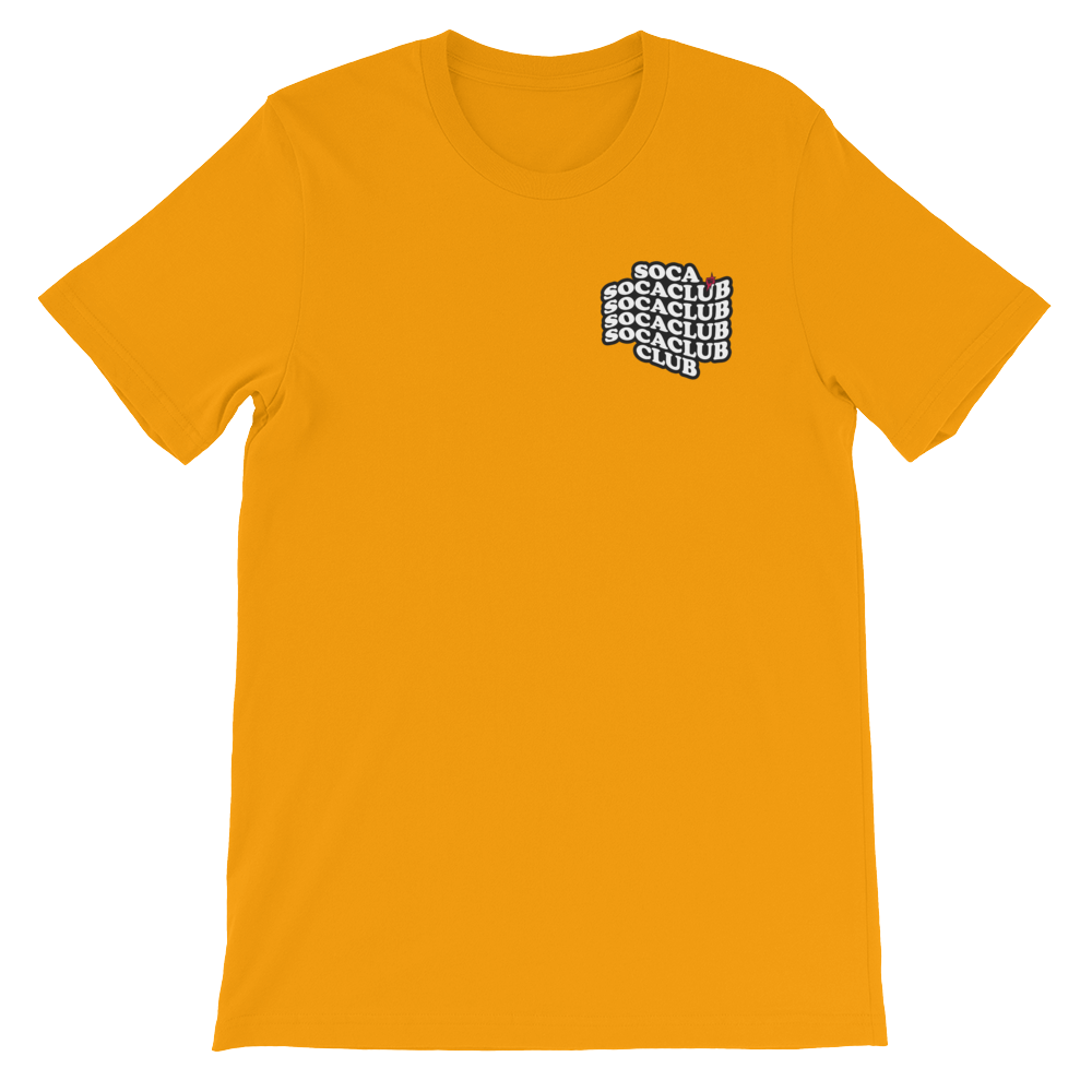 SOCACLUB™ Gold T-shirt