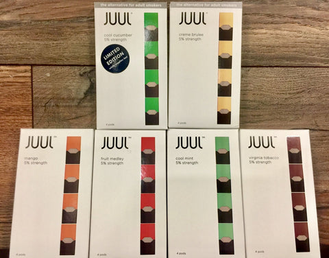 Juul 4 Pack Flavored Pods