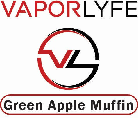 Green Apple Muffin by Vapor Lyfe