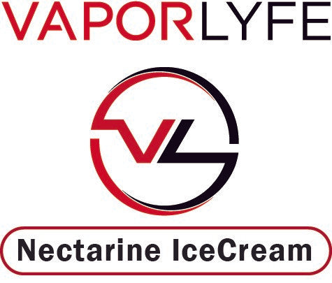 Nectarine Icecream by Vapor Lyfe