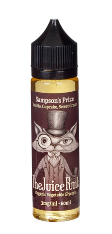 Sampson's Prize (Vanilla, Cupcake, Sweet Cream) by Juice Punk