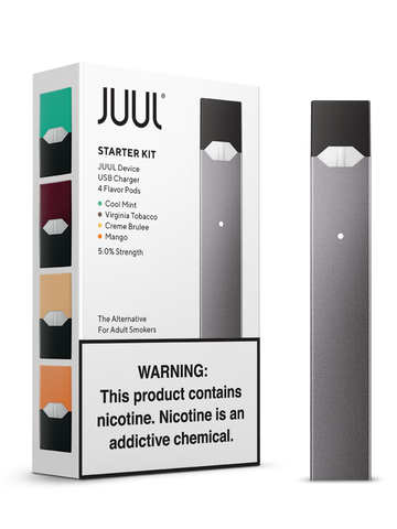 Juul Starter Kit w/ 4-Pack Pods