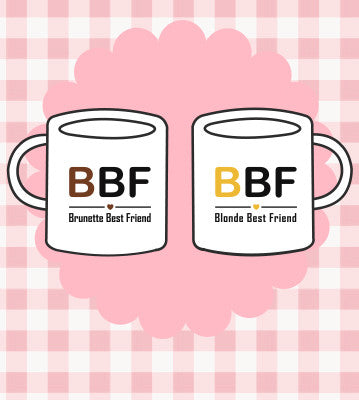 Best Friend Matching Coffee Mugs