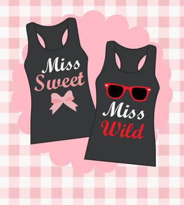 Best Friends Matching Tank Tops