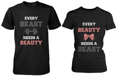 Matching Couple Shirts Every Beauty Needs A Beast