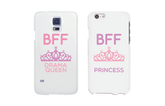 cute queen and princess phone case