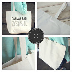 Short & Tall BFF Canvas Bags