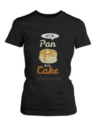 French Toast and Pancake Cute Couple Shirts His and Hers Funny Matching Tees