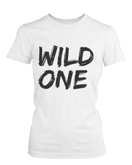 Cute Best Friend T Shirts Mild One and Wild One Funny BFF Matching Shirts