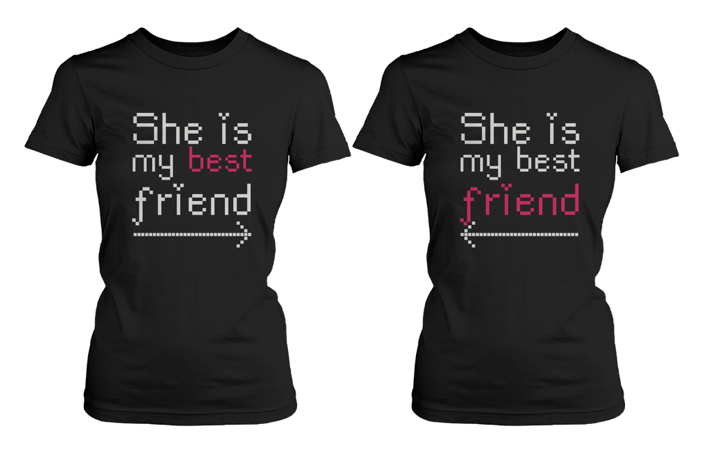 bff arrow matching tshirts