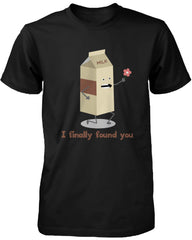 Cute Matching Couple Shirts Milk and Chocolate Chip –Gifts for Couples