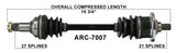 Arctic Cat Front CV axle left or right TrakMotive , 250 300 400 500  ARC-7007