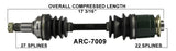 Arctic Cat Rear CV axle left or right TrakMotive , 250 300  ARC-7009