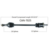 2014-2015  Can Am Maverick 1000r XMR front Left CV axle shaft