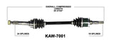 2000-2014 Kawasaki Mule KAF620 KAf 950 2510 3010 4010 Front right left CV axle shaft TrakMotive KAW-7001