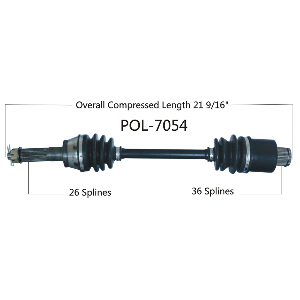 Complete Rear Left// Right CV Joint Axle for Polaris Sportsman Hawkeye 400 500 HO