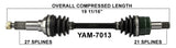 2003-2011 Yamaha Grizzly Bruin Kodiak Wolverine Front right left CV axle shaft TrakMotive YAM-7013