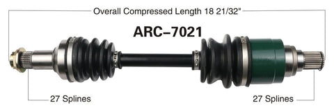arcitc cat rear axle cv shaft 366 400 450 XC efi