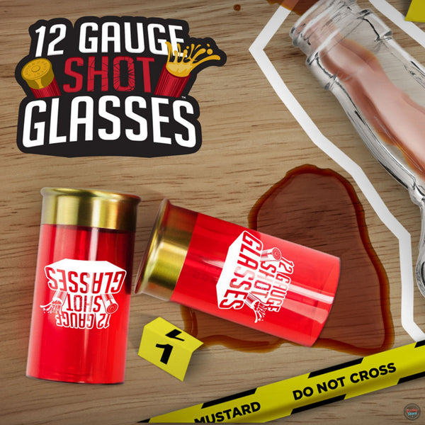 12 Gauge Shot Glasses (Pack of 4)