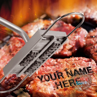 BBQ Branding Iron Changeable Letters