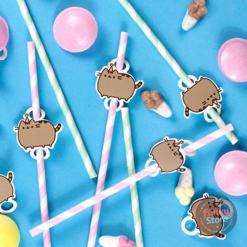 Pusheen - Straws