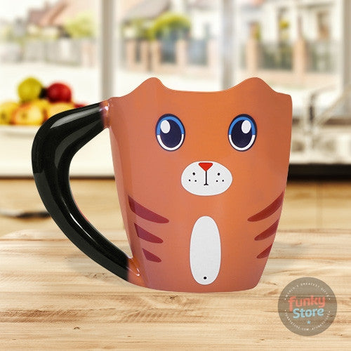Ginger Cat Heat Changing Mug