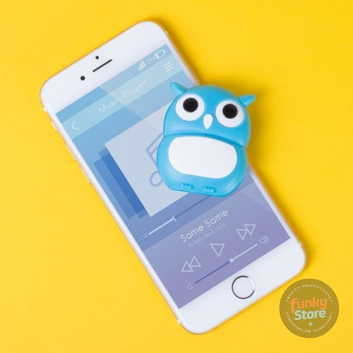 Mini Bluetooth Owl Speaker