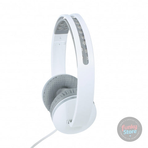 Folding Headphones - Black/White