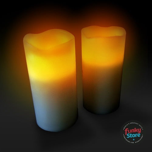 Remote Control Candle Set - 2 pack