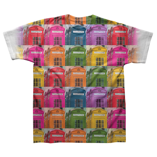 Telephone Boxes- White T-Shirt