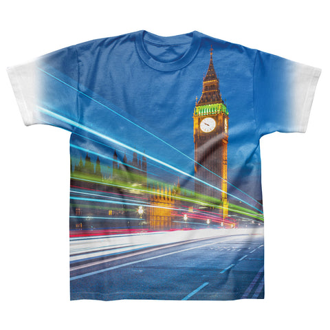 Big Ben Speed- White T-Shirt