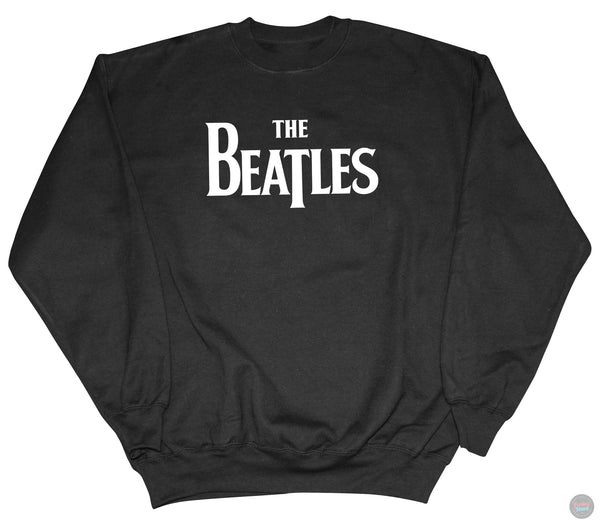 The Beatles - Black Logo Sweatshirt