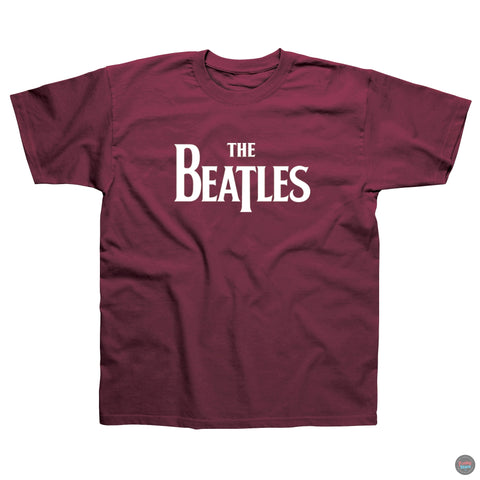 The Beatles- Logo- Red T-shirt