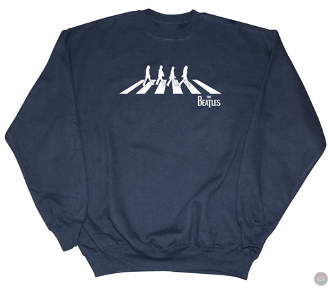 The Beatles - Abbey Road Silhouette - Navy Sweatshirt