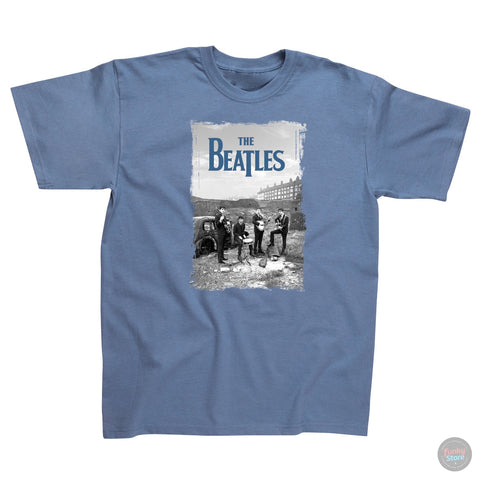 The Beatles - Wasteland - Steel Blue T-Shirt