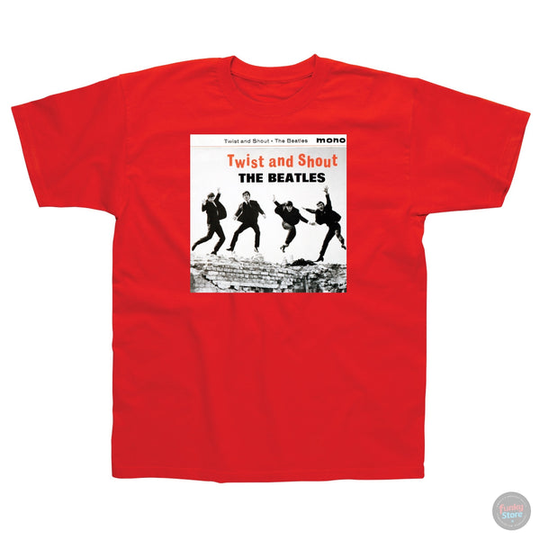 The Beatles - Twist and Shout - Red T-Shirt
