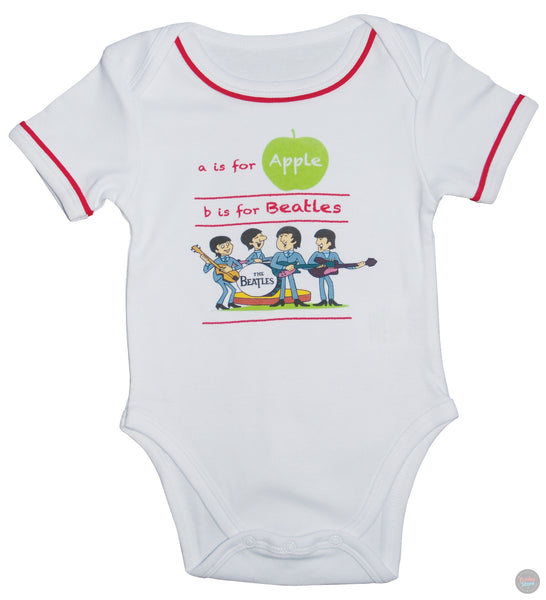The Beatles - Baby Body Suit - White
