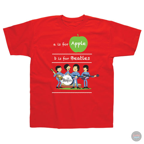 The Beatles - Children's T-Shirt - Red