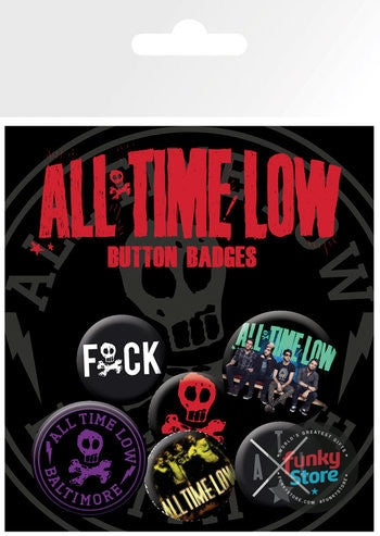 All Time Low Baltimore Badge Pack